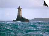 Bruno Barbier - Phare De La Vieille (Lighthouse), Raz De Sein, Finistere, Brittany, France Obrazy