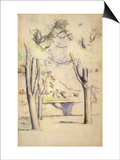 View Thru the Trees, 1887 Prints by Paul Cézanne