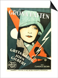 A Woman of Affairs, Swedish Movie Poster, 1928 Posters