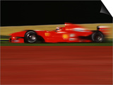 Formula One-Ferrari in Motion Prints by Peter Walton