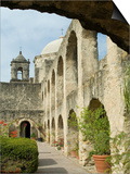 Mission San Jose, San Antonio, Texas, USA Art by Ethel Davies