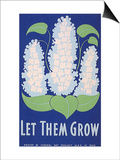 Let Them Grow WPA, c.1938 Art by Stanley Thomas Clough