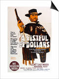 A Fistful of Dollars, Australian Movie Poster, 1964 Prints