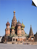 St. Basil's Cathedral, Red Square, Unesco World Heritage Site, Moscow, Russia Art by Philip Craven