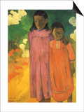 Piti Teina (Two Sisters), 1892 Prints by Paul Gauguin