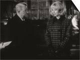 Jean Gabin and Mireille Darc: Monsieur, 1964 Print by Marcel Dole