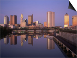 Skyline, Columbus, Ohio Prints by Richard Stockton