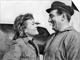 Annie Girardot and Lino Ventura: Le Bateau D'Emile, 1962 Prints by Marcel Dole