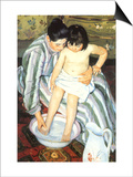 The Bath, 1891 Poster by Mary Cassatt