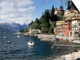 Varenna, Lake Como, Lombardy, Italian Lakes, Italy Art by Sheila Terry