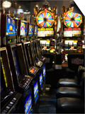 Slot Machines at an Airport, Mccarran International Airport, Las Vegas, Nevada, USA Prints