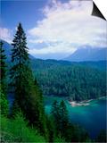 Sonnenspitze & the Wetterstein, Tyrol, Austria Print by Walter Bibikow