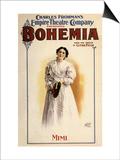 Bohemia: Charles Frohman's Empire Theatre Company, c.1895 Prints