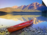 Canoe on Pyramid Lake Prints by Kevin Law