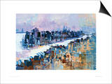 New York & Manhattan Island Art by Colin Ruffell