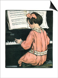 Scales, 1907 Print by Jessie Willcox-Smith