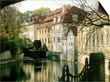 Certovka (Devil's Creek), Prague, Czech Republic Prints by Ron Rocz