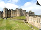 Alnwick Castle, Alnwick, Northumberland, England, United Kingdom Posters by Ethel Davies