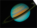 Saturn, Sixth Planet from the Sun Prints by David Bases