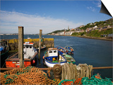 Fishing Harbour at the Pilot Boast Qauy, Cobh, County Cork, Ireland Posters