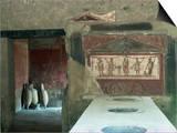 Taverna Near the Theatre, Pompeii, Unesco World Heritage Site, Campania, Italy Posters by Christina Gascoigne