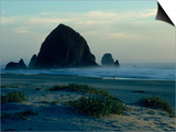 Haystack Rock, Cannon Beach, ORegon Coast, OR Prints by Fred Luhman
