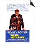 To Sir With Love, 1967 Print