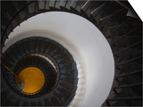 Spiral Staircase in a Lighthouse, Cabo Santa Maria Lighthouse, La Paloma, Rocha Department, Uruguay Prints