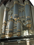Organ, Oude Kirk (Old Church), Delft, Holland (The Netherlands) Art by Gary Cook