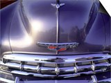 Close-up of a Chevrolet Car Poster by Silvestre Machado