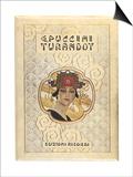 G. Puccini: Turandot, c.1926 Prints by Umberto Brunelleschi