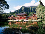 Byodo-In Temple, Windward, Oahu, Hawaiian Islands, USA Prints