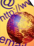 Global Computer Networking Posters by Carol & Mike Werner