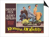 Roman Holiday, 1953 Print