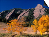 The Flatirons, Boulder, Colorado Posters by Gary Conner
