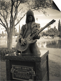 Tombstone of Johnny Ramone in Hollywood Forever Cemetery, Santa Monica Boulevard, Hollywood Posters