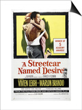 A Streetcar Named Desire, 1951 Poster