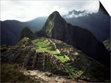 Inca Site, Machu Picchu, Unesco World Heritage Site, Peru, South America Poster par Rob Cousins