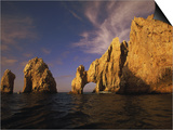 Rock Formations, Cabo San Lucas, Mexico Art by Walter Bibikow