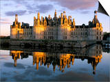 Chateau De Chambord, Unesco World Heritage Site, Loir-Et-Cher, Pays De Loire, Loire Valley, France Prints by Bruno Morandi