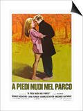 Barefoot in the Park, Italian Movie Poster, 1967 Art