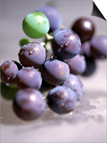 Close-up of Grapes Prints by John Glembin