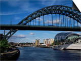 Tyne Bridge, Newcastle Upon Tyne, Tyne and Wear, England, United Kingdom Poster by James Emmerson