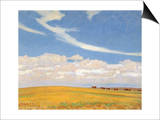 Prairie after Storm, 1921 Prints by Maynard Dixon