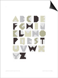 Alphabet Blocks Posters by Trent Siddharta