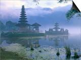 Pura Ulun Temple, Danu Bratan, Island of Bali, Indonesia, Southeast Asia Posters by Bruno Morandi