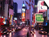Times Square at Night, NYC, NY Art by Rudi Von Briel