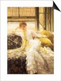 July (Speciment of a Portrait), 1878 Prints by James Tissot