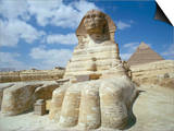 The Sphinx, Giza, Unesco World Heritage Site, Cairo, Egypt, North Africa, Africa Art by Adam Woolfitt