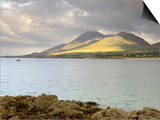 Croagh Patrick Mountain and Clew Bay, from Old Head, County Mayo, Connacht, Republic of Ireland Prints by Gary Cook